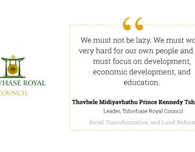 Rural Transformation Journey of the Tshivhase Royal Council