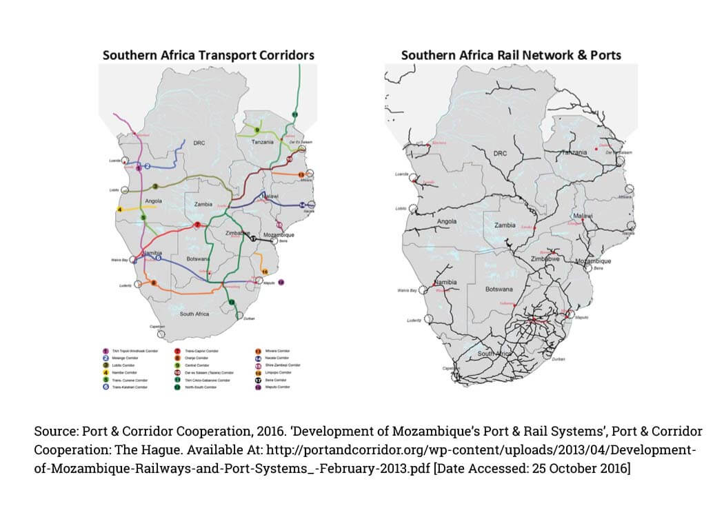 Transport Infrastructure in Southern Africa