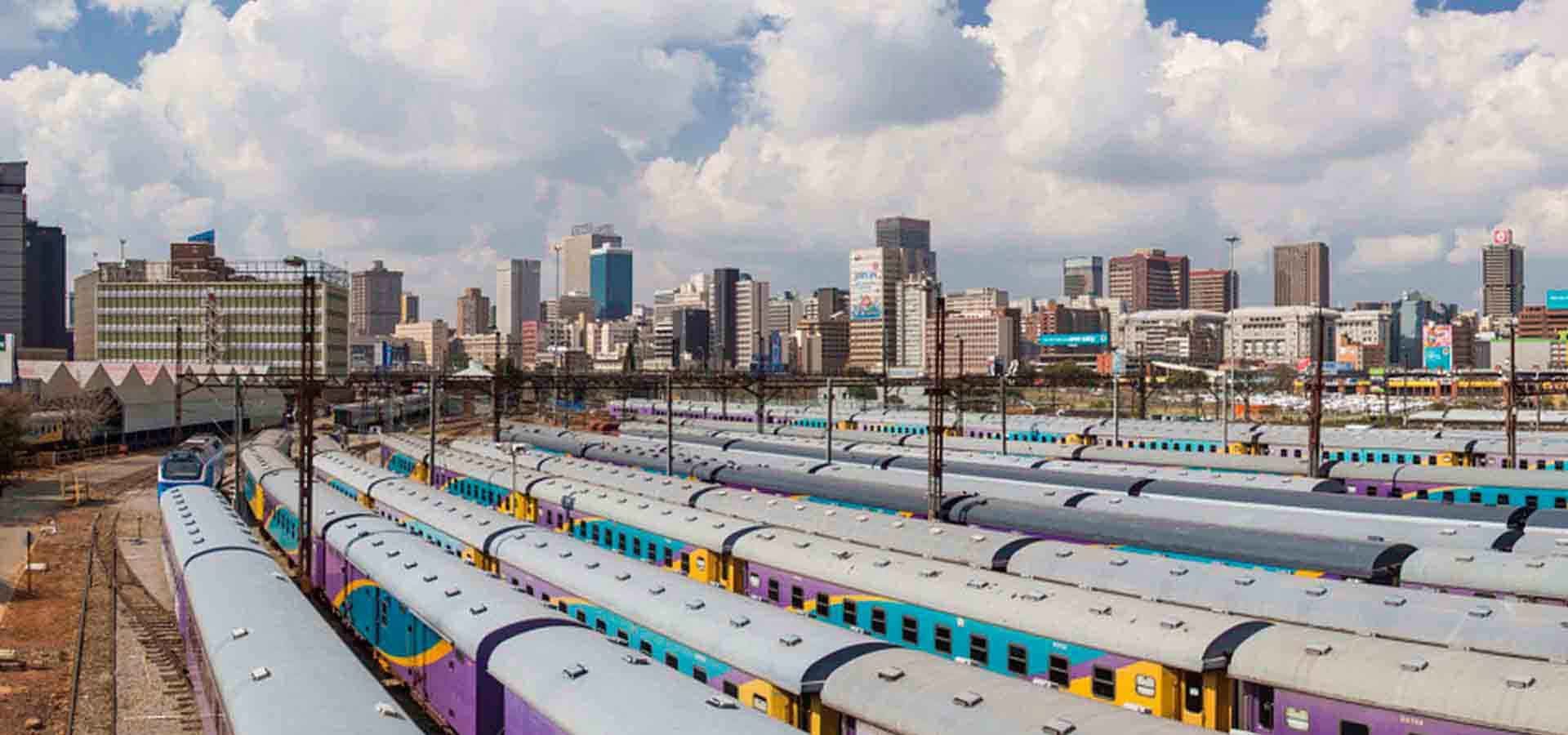 Johannesburg Park Station and Trains