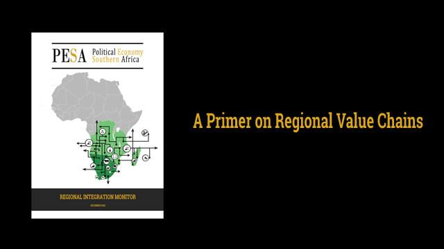 PESA Regional Integration Monitor, Dec 2016