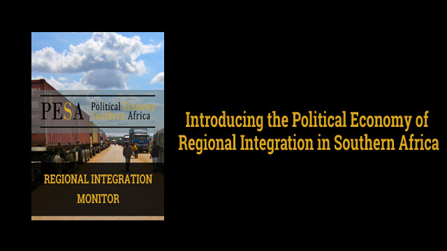 PESA Regional Integration Monitor, Sep 2016