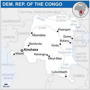 Congolese Cities