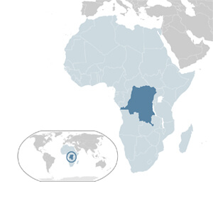 DRC Geographic Location