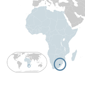 Lesotho Geographic Location