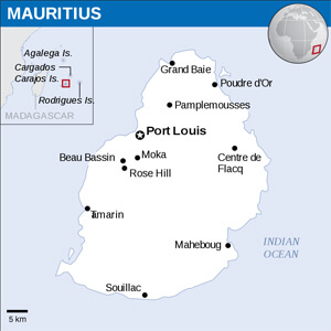Mauritian Cities