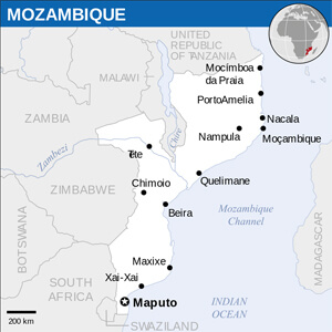 Mozambican Cities