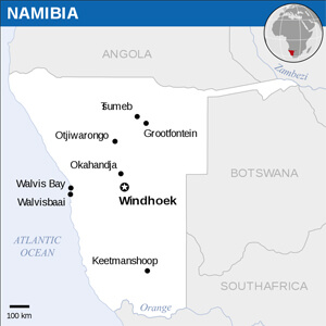 Namibian Cities