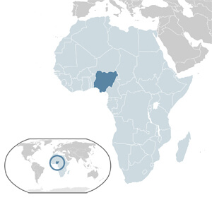 Nigeria Geographic Location