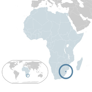 Swaziland Geographic Location