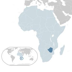 Zimbabwe Geographic Location