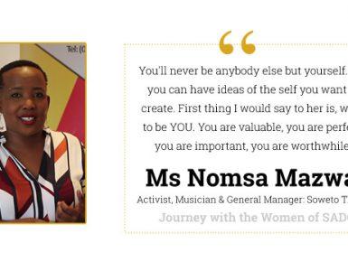 Journey with Nomsa Mazwai