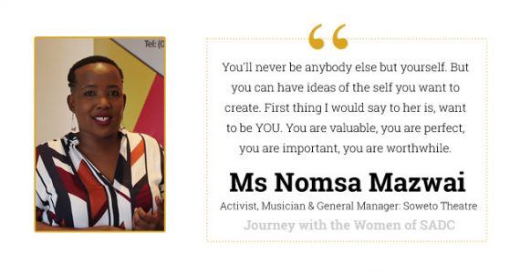 Journey with Nomsa Mazwai