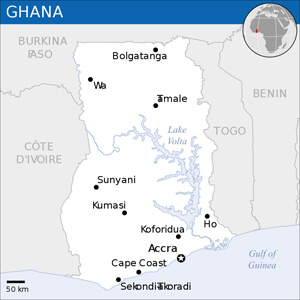 Ghanaian Cities
