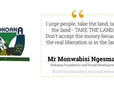 Land Restitution Journey of Kokoana Farming Enterprise