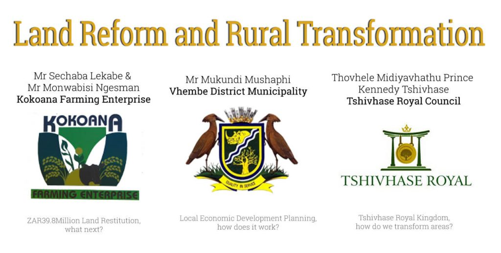 PESA Dialogues - Land Reform and Rural Transformation