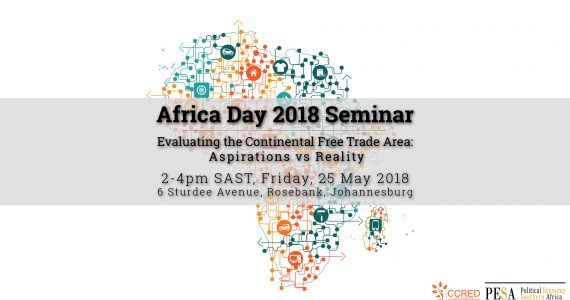 CCRED-PESA Africa Day Seminar - Evaluating the Continental Afric