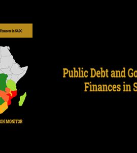 Public Debt and Government Finances in SADC
