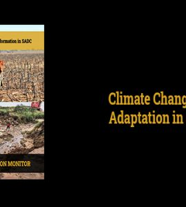 Climate Change and Adaptation in SADC