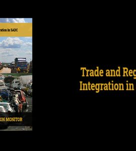 Trade and Regional Integration in SADC